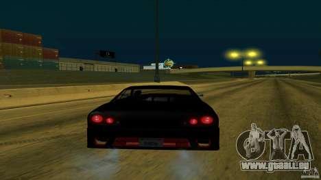 New elegy v1.0 pour GTA San Andreas vue de droite