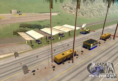 Polizeiposten 2 für GTA San Andreas