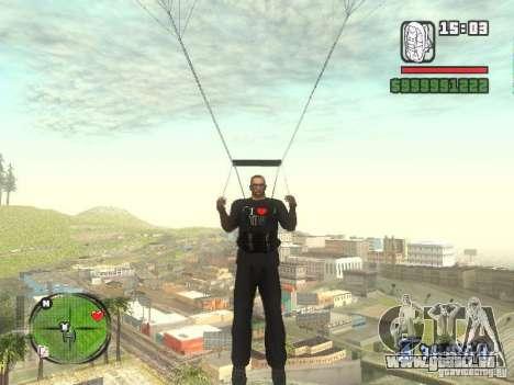 I Love My T-shirt (IV) für GTA San Andreas fünften Screenshot