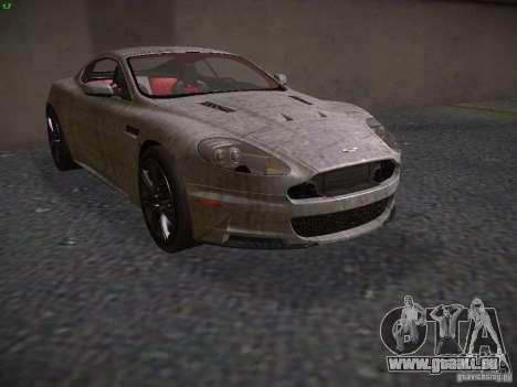 Aston Martin DBS pour GTA San Andreas vue de côté