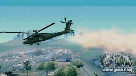 Piège à chaleur pour chasseur pour GTA San Andreas deuxième écran