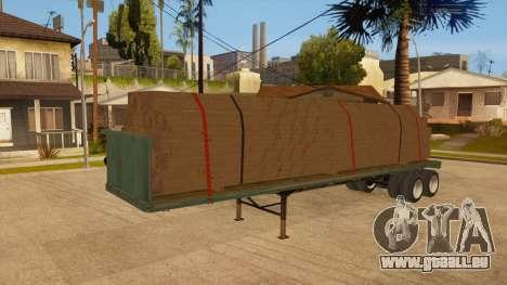 Chalut pour GTA San Andreas vue de dessus