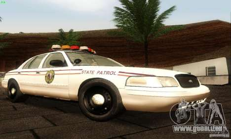 Ford Crown Victoria North Dakota Police für GTA San Andreas