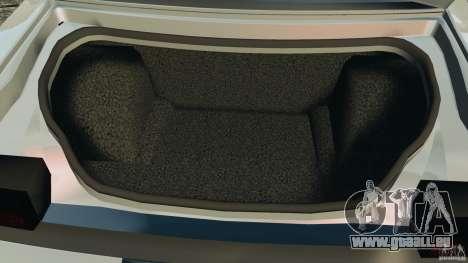 Dodge Challenger SRT8 392 2012 für GTA 4 Unteransicht