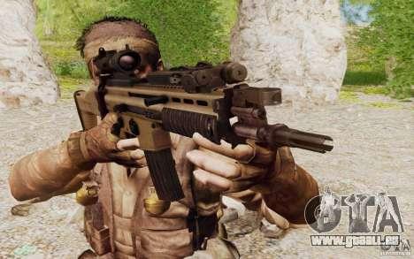 FN Scar L pour GTA San Andreas deuxième écran