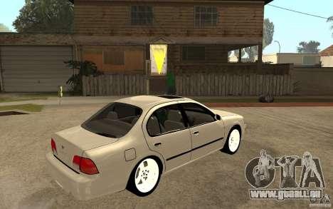 Nissan Maxima 1998 pour GTA San Andreas vue de droite