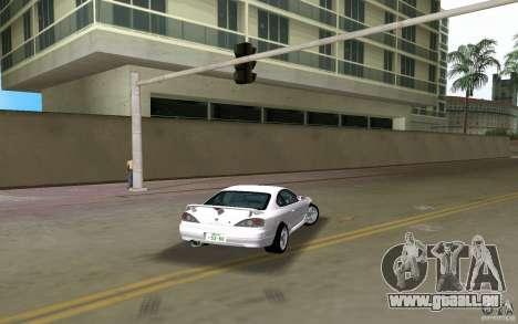 Nissan Silvia spec R Light Tuned pour une vue GTA Vice City de la gauche