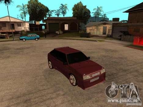 VAZ 2108 Tuning pour GTA San Andreas vue de droite