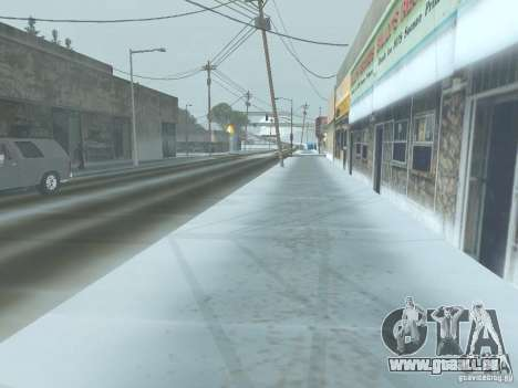 Winter für GTA San Andreas her Screenshot