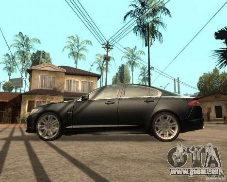 Jaguar XFR 2009 für GTA San Andreas linke Ansicht
