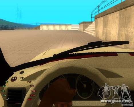 GAZ Volga 2410 el Cabrio für GTA San Andreas Rückansicht