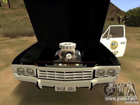 AMC Matador SA Police 1971 Final pour GTA San Andreas vue de droite
