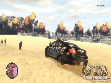 Ford Taurus Police für GTA 4 Seitenansicht