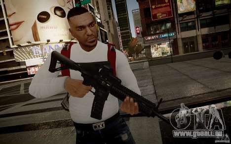 Das HK416 (automatisch) für GTA 4 sechsten Screenshot