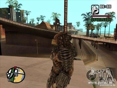 Predator Predator pour GTA San Andreas deuxième écran