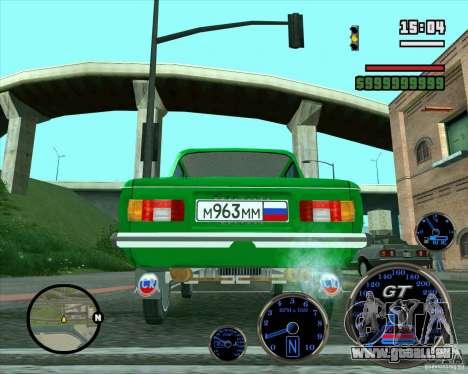ZAZ 968 m für GTA San Andreas Seitenansicht