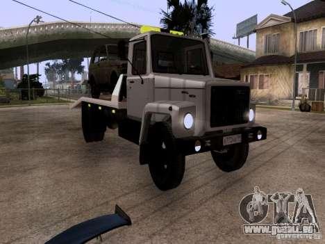 GAZ 3309 Abschleppwagen für GTA San Andreas linke Ansicht