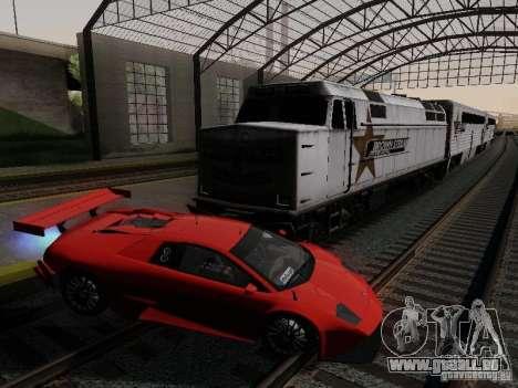 Crazy Trains MOD pour GTA San Andreas deuxième écran