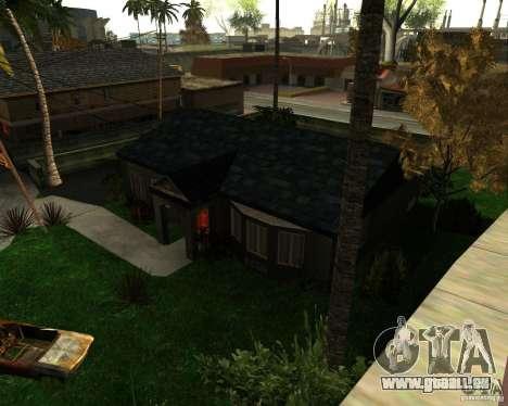 New Ryder House für GTA San Andreas dritten Screenshot