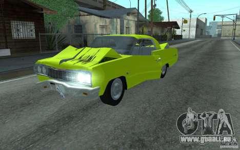 Chevrolet Impala SS 1964 pour GTA San Andreas vue arrière