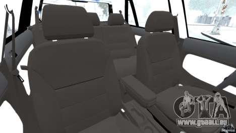 Volkswagen Golf Sportline 2011 für GTA 4 Innenansicht