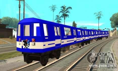 Liberty City Train Sonic pour GTA San Andreas