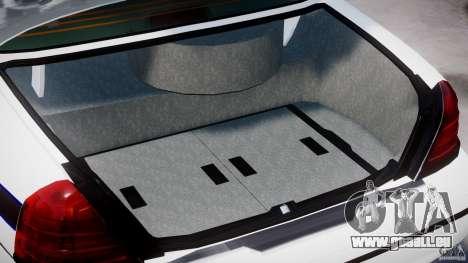 Ford Crown Victoria 2003 FBI Police V2.0 [ELS] für GTA 4 obere Ansicht