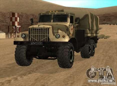 KrAZ v1. 0 für GTA San Andreas rechten Ansicht