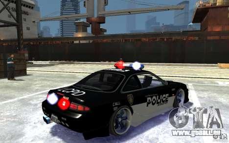 Nissan 200SX Police v0.2 pour GTA 4 est un droit