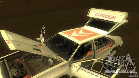 Citroen BX 4TC für GTA San Andreas Seitenansicht