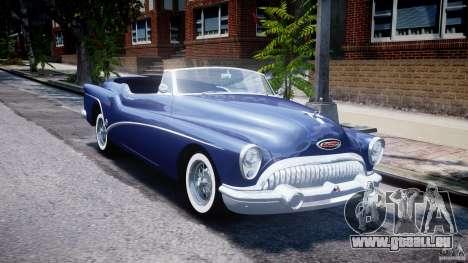 Buick Skylark Convertible 1953 v1.0 pour GTA 4 est un côté