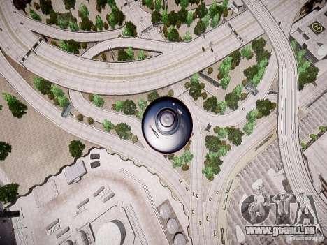 UFO-die erschreckende für GTA 4 rechte Ansicht
