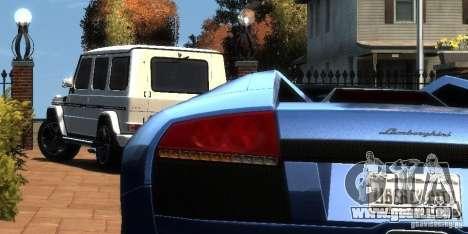 Mercedes-Benz G65 AMG [W463] 2012 pour GTA 4 est un droit