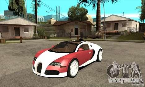 Bugatti Veyron Grand Sport für GTA San Andreas