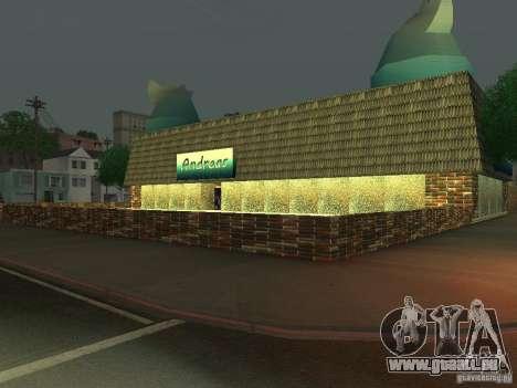 Andreas Cafe pour GTA San Andreas