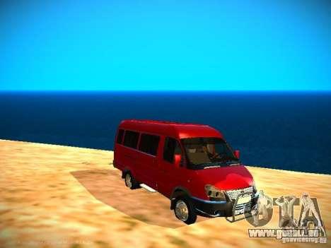 Gazelle 32213 Business v1. 0 für GTA San Andreas Innenansicht