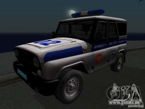 UAZ-315195 Hunter Police pour GTA San Andreas