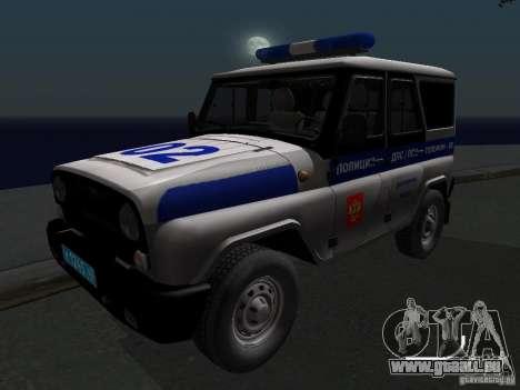 UAZ-315195 Hunter Polizei für GTA San Andreas