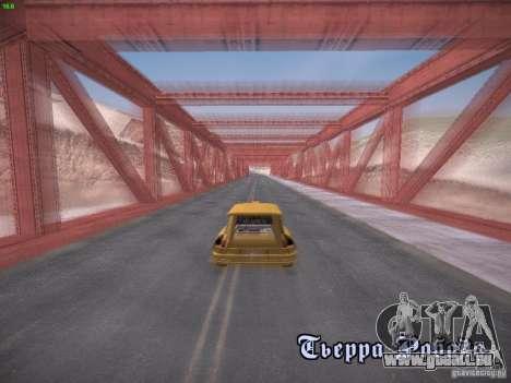 Renault 5 Turbo pour GTA San Andreas vue de droite