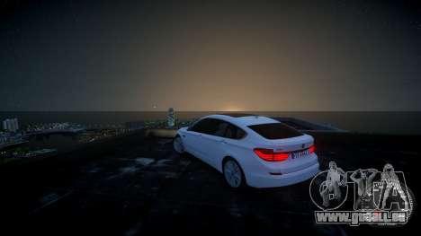 BMW GT F07 2012 GranTurismo pour GTA 4 est une gauche
