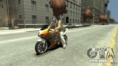 White clothes pack für GTA 4 dritte Screenshot