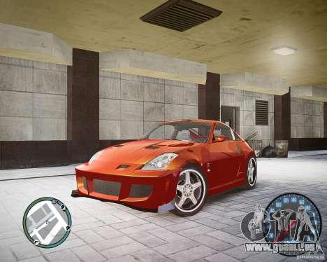 Nissan 350Z Z33 für GTA 4
