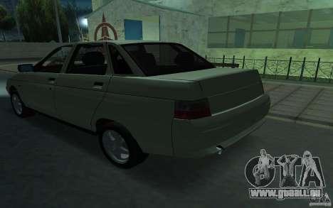 VAZ-21103 pour GTA San Andreas sur la vue arrière gauche
