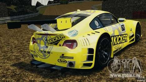 BMW Z4 M Coupe Motorsport für GTA 4 hinten links Ansicht