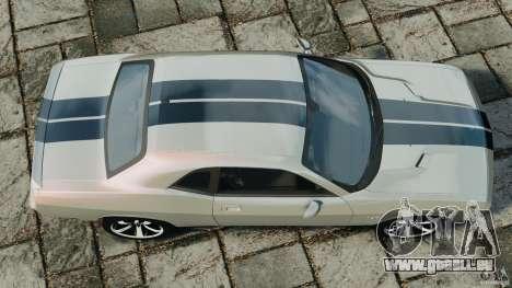 Dodge Challenger SRT8 392 2012 pour GTA 4 est un droit