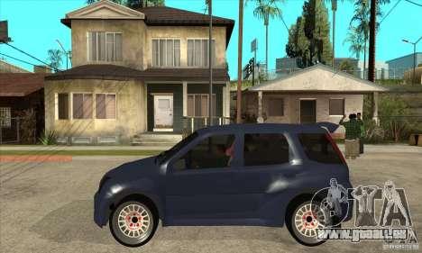 Suzuki Ignis Rally pour GTA San Andreas laissé vue