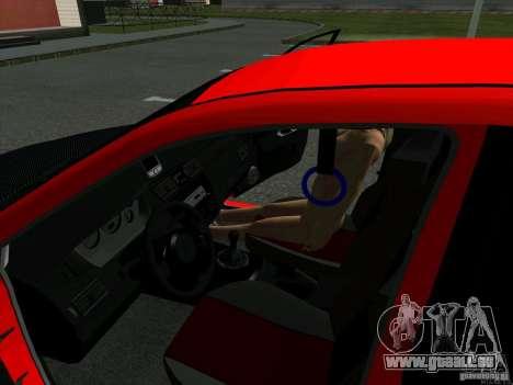 Mitsubishi Lancer Drift pour GTA San Andreas vue arrière