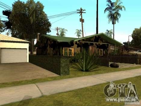 Maison neuve de Denis pour GTA San Andreas troisième écran