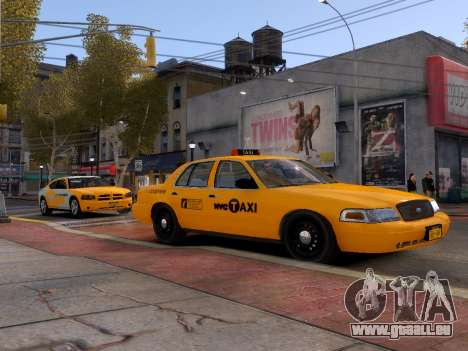 Ford Crown Victoria NYC Taxi 2013 pour GTA 4