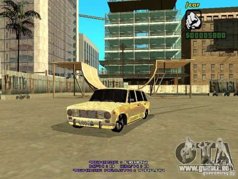 VAZ 2102 or pour GTA San Andreas